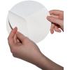 Outdoor stickers op witte PVC-folie zijn voorzien van een slit aan de achterkant, zodat het schutblad gemakkelijk kan worden verwijderd