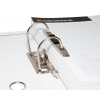 Uitvergroting van het 2-voudig hefboommechanisme inck. drukspanner