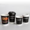 Met voedselveilige inkt in offsetkwaliteit bedrukt, voor warme en koude dranken.
