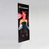 X-banner uitvoering Standaard, 500g/m² PVC voor wisselende motieven, geschikt voor bannermaten met een zichtbaar presentatieoppervlak van 60 x 160cm of 80 x 200cm.